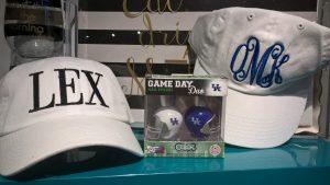 LEX & Monogram Hats - $18.99 Game Day Nail Polish - $16
