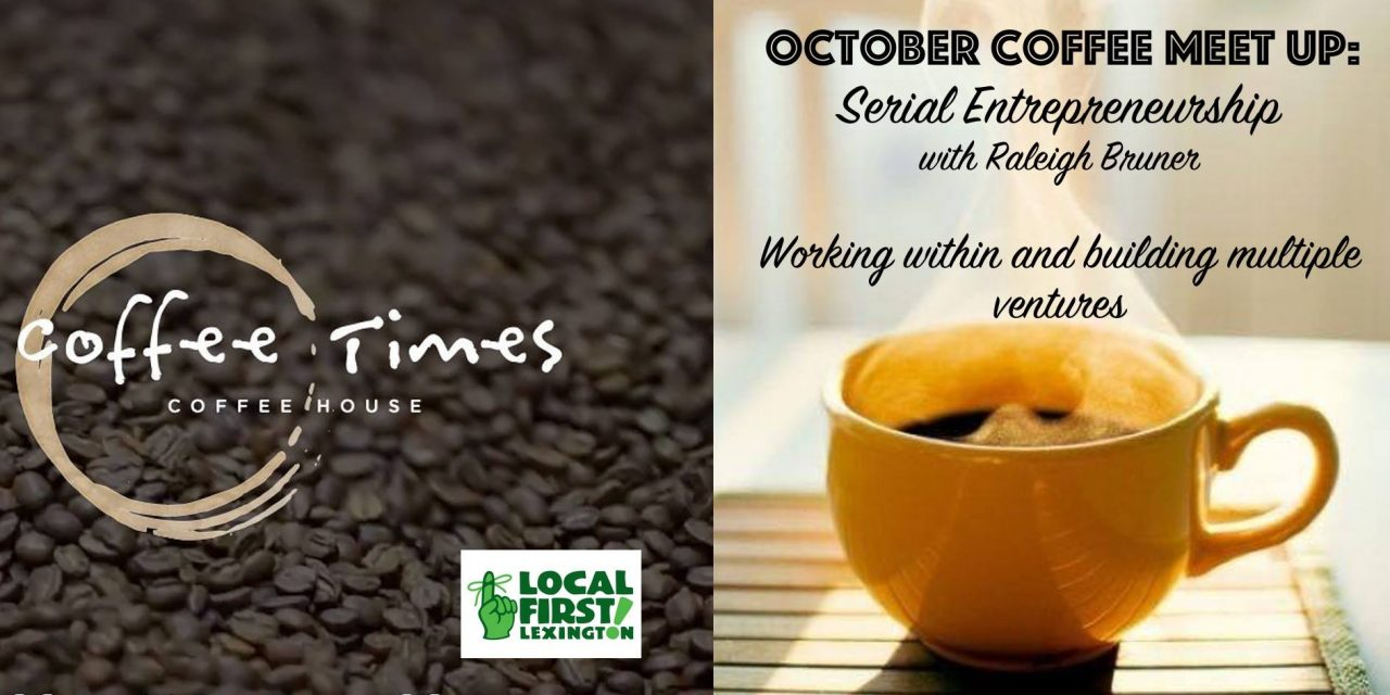 October's Coffee Meet-Up at Coffee Times