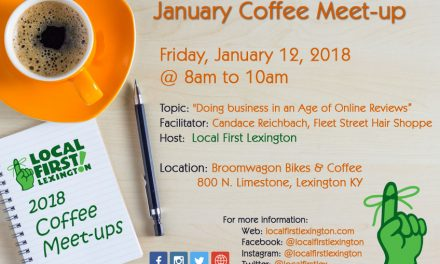 January's Coffee Meet-up at Broomwagon