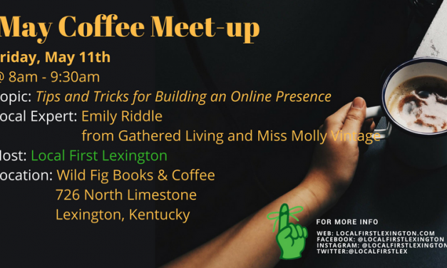 May 2018 Coffee Meetup at Wild Fig
