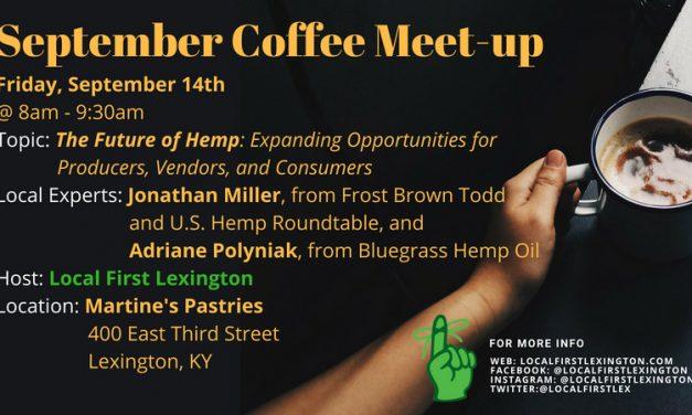 September 2018 Coffee Meet-up