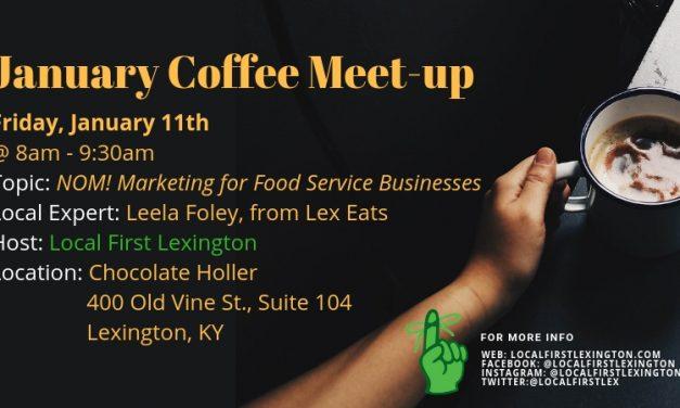 January 2019 Coffee Meet-up