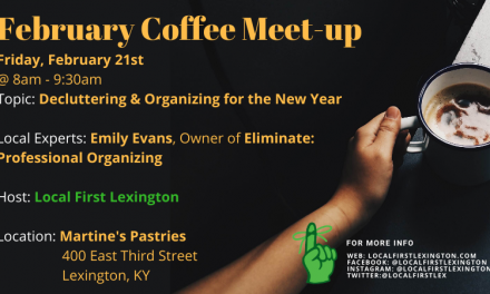 February 2020 Coffee Meet-up: Decluttering & Organizing for the New Year
